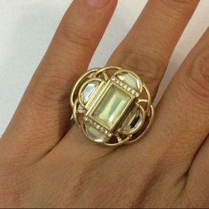 Lia Sophia Jewelry Compass Ring